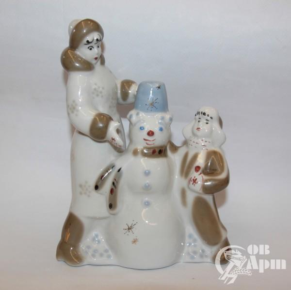 """Скульптура """"Зимний дворик"""""""