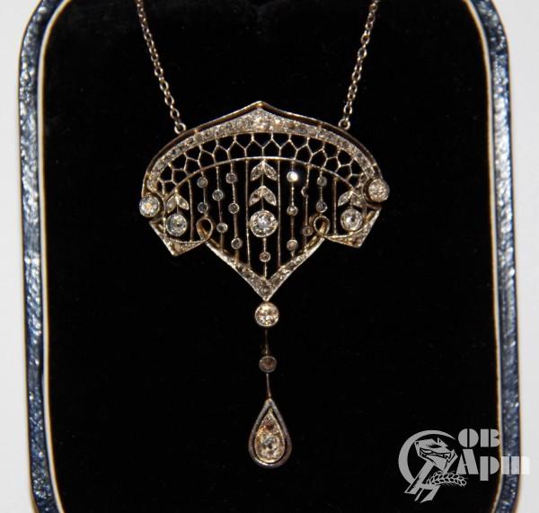 Сотуар с бриллиантами и алмазами