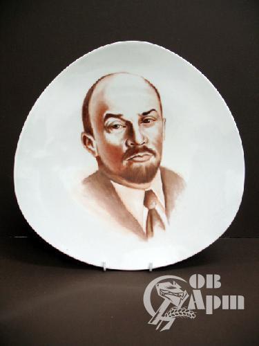 """Тарелка """"Ленин"""""""