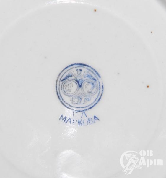 Тарелка завода Г.А. Маркова