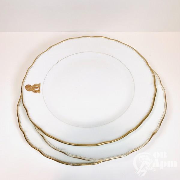 Тарелки с монограммой
