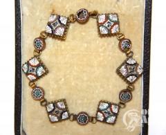 Браслет с венецианской мозаикой
