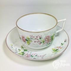 Чайная пара для завтрака «Шиповник»