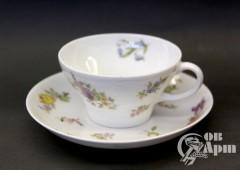 """Чайная пара Гарднер """"Цветы"""""""