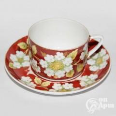 """Чайная пара """"Яблоневый цвет"""""""