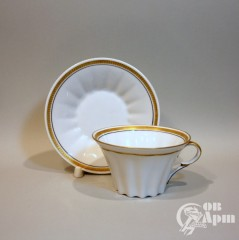 """Чайная пара """"Золотая кайма"""""""