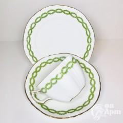 Чайное трио «Зелёная гирлянда»