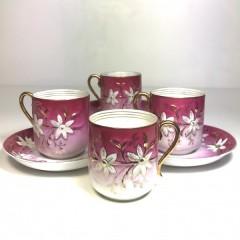 Чайные пары с малиновым крытьем