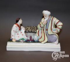 """Чернильница """"Игра в шашки"""""""