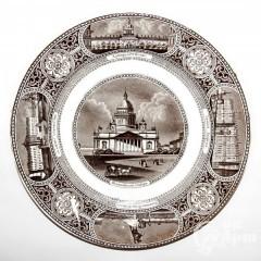 """Декоративна тарелка """"Исаакиевский собор"""""""