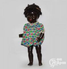"""Детская игрушка-кукла """"Девочка-негритенок"""""""