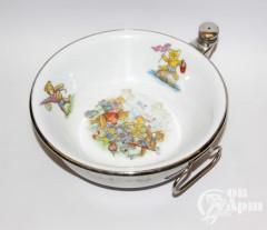 Детская тарелка с подогревом