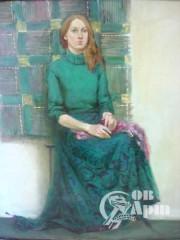 """""""Девушка в зеленом"""""""