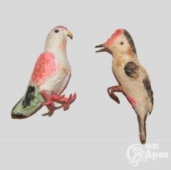 """Елочные игрушки """"Птицы"""""""