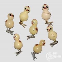 """Ёлочные игрушки """"Цыплята"""""""