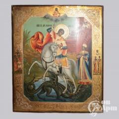 """Икона """"Святой Георгий Победоносец"""""""