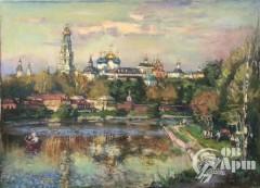 """Картина """"Келарский пруд"""""""