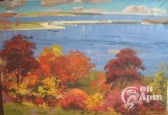 """Картина """"Красные деревья"""""""