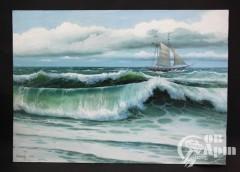 """Картина """"Морской пейзаж"""""""