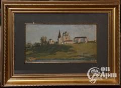 """Картина """"Можайск. Феропонтов монастырь"""""""