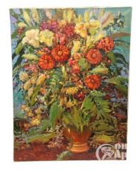 """Картина """"Осенний букет с лилиями"""""""