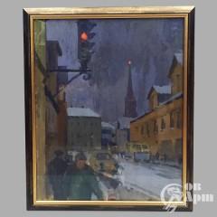 """Картина """"Улицы Москвы"""""""