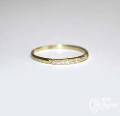 Кольцо-дорожка с бриллиантами