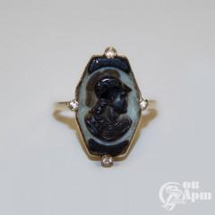"Кольцо с камеей ""Афина"""