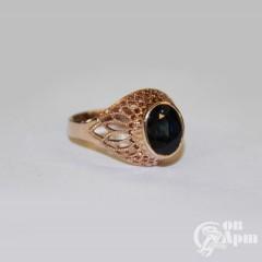 Кольцо с сапфиром, золото 583 пр