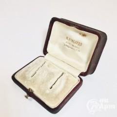 Коробка-футляр для серёг
