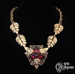 """Ожерелье """"Листья"""" Joseff"""