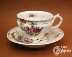 """Пара чайная """"Цветы"""""""