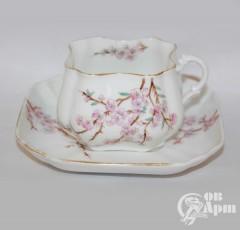 """Пара чайная """"Цветы сакуры"""""""