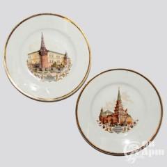 """Парные тарелки """"Кремль"""""""