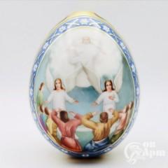 Пасхальное яйцо «Воскрешение Господне». Императорский фарфоровый завод