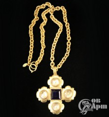 """Подвеска """"Крест"""" Chanel"""