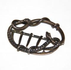 Пряжка в виде змеи