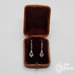 Серьги с бриллиантами и алмазами