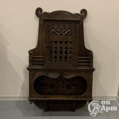 Шкаф нависной в русском стиле. Абрамцево