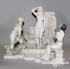 """Скульптура """"А зори здесь тихие"""""""