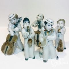 """Скульптура """"Еврейский оркестр. Джаз-бенд"""""""