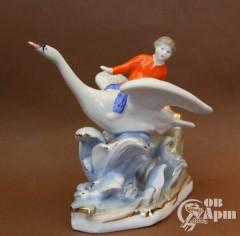 """Скульптура """"Гуси-лебеди"""""""