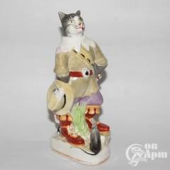 """Скульптура """"Кот в сапогах"""""""