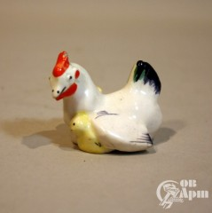 """Скульптура миниатюрная """"Курица"""""""