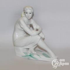 """Скульптура """"На отдыхе"""""""