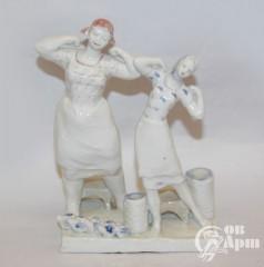 """Скульптура """"Производственная гимнастика"""""""