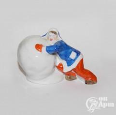 "Скульптура ""Снежный шар"""