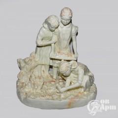 """Скульптурная композиция """"Посадка саженцев"""""""