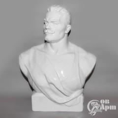 Скульптурный портрет Ивана Поддубного