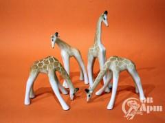 Скульптуры жирафы